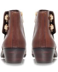 Sam Edelman - Brown Peter Leather Ankle Boots - Lyst