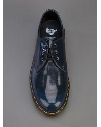 Dr. Martens Blue Derby Shoe for men