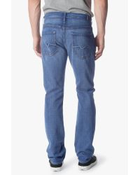 7 For All Mankind - Blue The Straight for Men - Lyst