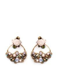 J.Crew | Multicolor 'cirque' Earrings | Lyst