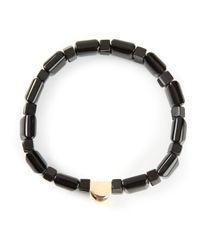 Luis Morais | Metallic Gold Detail Bracelet for Men | Lyst