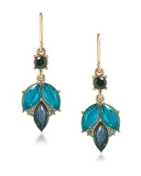 Carolee | Blue Stone Drop Earrings | Lyst