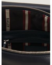 Bally - Blue Triar Messenger Bag for Men - Lyst