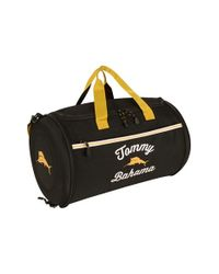 Tommy Bahama Black 'tumbler' Duffel Bag for men