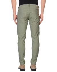 Dondup Green Casual Pants for men