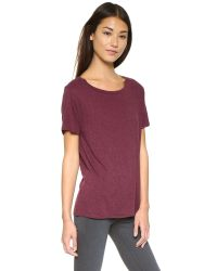 Rag & Bone | Purple Concert Tee | Lyst