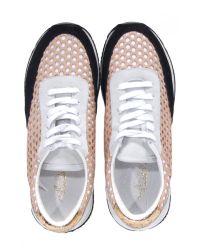 Loeffler Randall Pink Rio Runner Sneaker