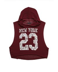 Forever 21 - Red New York 23 Tank - Lyst