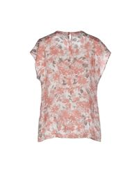 Peserico | Pink Blouse | Lyst