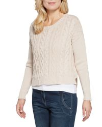 Sandwich - Natural Cable Knit Jumper - Lyst
