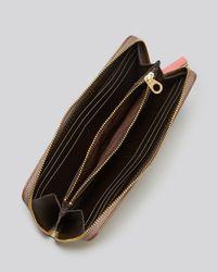 Marc By Marc Jacobs Metallic Wallet Sophisticato Slim Zip Around Continental