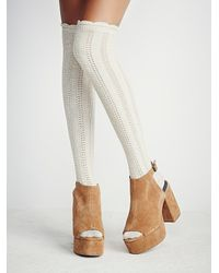 Free People | Brown Chemistry Covered Platfor | Lyst
