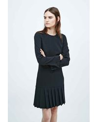 Antipodium - Century Shift Dress In Black - Lyst