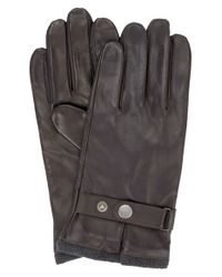Ben Sherman | Brown Leather Driving Gloves With Knit Lining for Men | Lyst