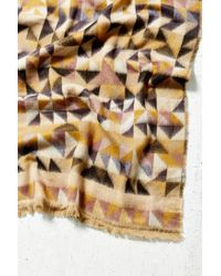 Urban Outfitters Multicolor Avant Garde Brushed Woven Scarf