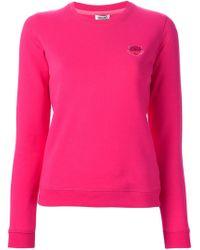 KENZO - Pink 'tiger' Sweatshirt - Lyst