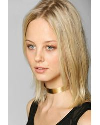Urban Outfitters | Metallic Aoko Su Cat Collar Necklace | Lyst
