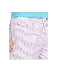 Polo Ralph Lauren | Pink Traveler Striped Swim Short for Men | Lyst