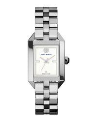 Tory Burch | Metallic Dalloway Silvertone Bracelet Strap Watch | Lyst
