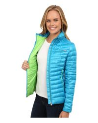 Spyder - Green Timeless Down Jacket - Lyst