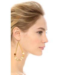 Marni - Metallic Horn Earrings - Savannah - Lyst