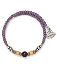 ALEX AND ANI - Purple Vintage 66 Canyon Wrap Bracelet - Lyst