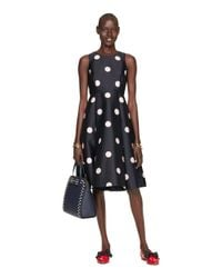 kate spade new york | Blue Spotlight Fit And Flare Dress | Lyst