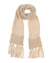 Twenty Easy By Kaos - Natural Oblong Scarf - Lyst