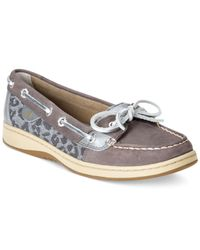 Sperry Top-Sider Gray Women'S Angelfish Boat Shoes