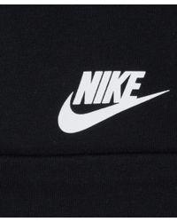 Nike - Black Moto Zip Tech Fleece Sweatshirt - Lyst