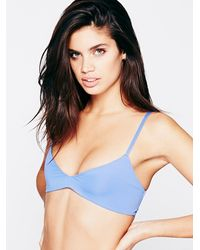 Free People | Blue Emmi Solid Top | Lyst