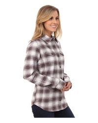 Carhartt   Gray Hamilton Flannel Shirt Ii   Lyst