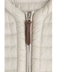 Woolrich - Natural Quilted Down Jacket - Lyst