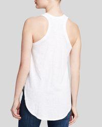 Wilt White Top - Shirttail Tank