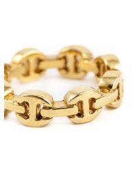 Hoorsenbuhs - Metallic 'dame' Classic Tri-link Ring - Lyst