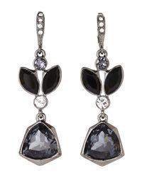 Givenchy | Black Hematite-Tone Earrings | Lyst