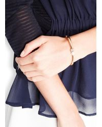 Vita Fede - Metallic Eclipse Cubo 24Kt Gold-Plated Bracelet - Lyst