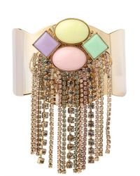 Anton Heunis Multicolor Candy Store Collection Chains Cuff
