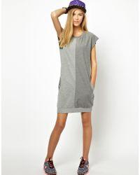 PUMA | Gray Sports Dress | Lyst