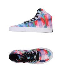 Supra - Pink High-Tops & Trainers - Lyst