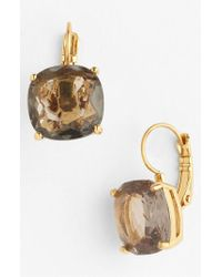 Kate Spade | Metallic Drop Earrings | Lyst