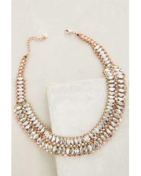 Anthropologie - Metallic Sorcha Necklace - Lyst