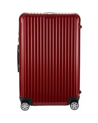 Rimowa Red Salsa Deluxe 29 Multiwheel Suitcase for men