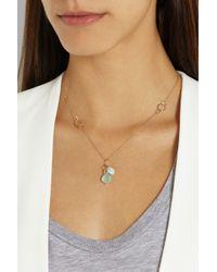 Melissa Joy Manning - Blue 14-Karat Gold Multi-Stone Necklace - Lyst
