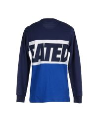 Undefeated | Blue T-shirt for Men | Lyst