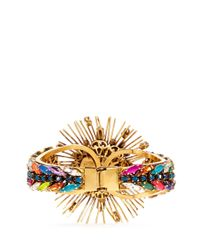 Erickson Beamon - Multicolor 'telepathic' Crystal Firework Cuff - Lyst