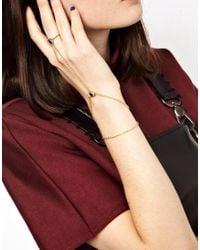 ASOS - Black Limited Edition Eye Hand Harness - Lyst