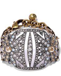 Lulu Frost - Metallic Gold-plated Larkspur Bracelet - Lyst