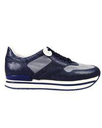 Hogan | Blue Sneakers Woman | Lyst