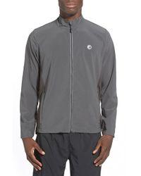 Athletic Recon - Gray 'finisher' Water Repellent Zip Jacket for Men - Lyst